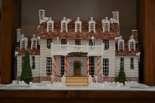 Presidential Gingerbread Houses