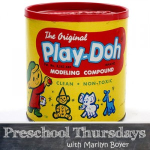 Thursdays-Preschool-Play-Doh