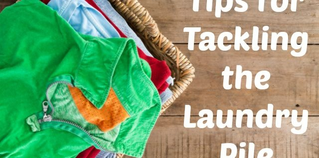 Tips for Tackling the Laundry Pile