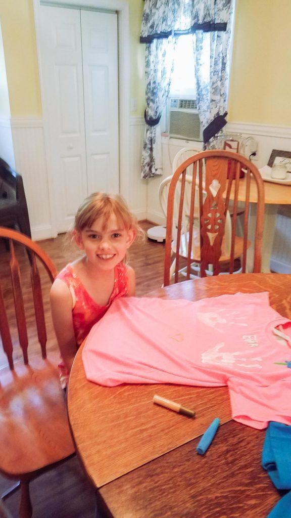 DIY Kids Tshirts