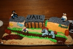 Anne's Western town cake
